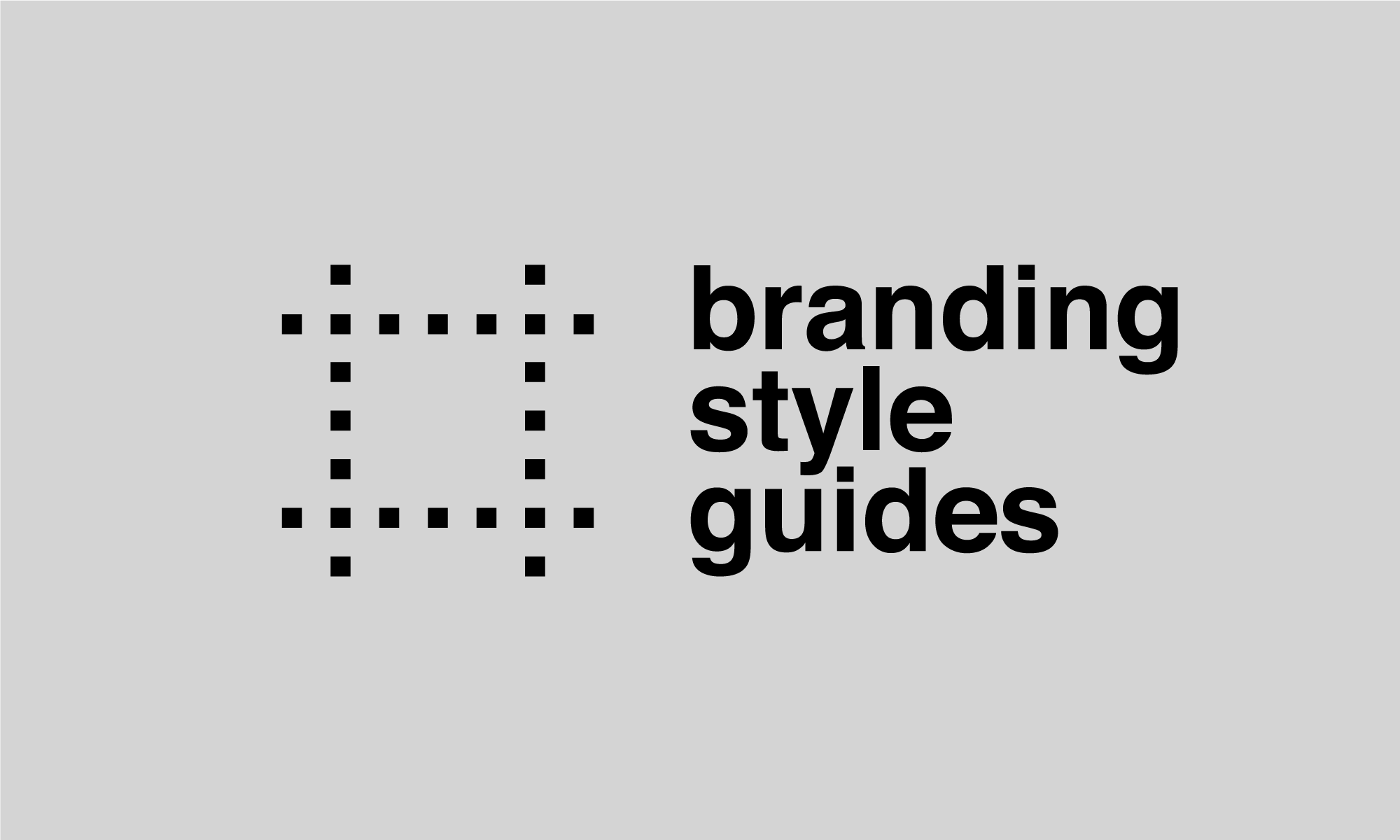 The branding style guidelines documents archive